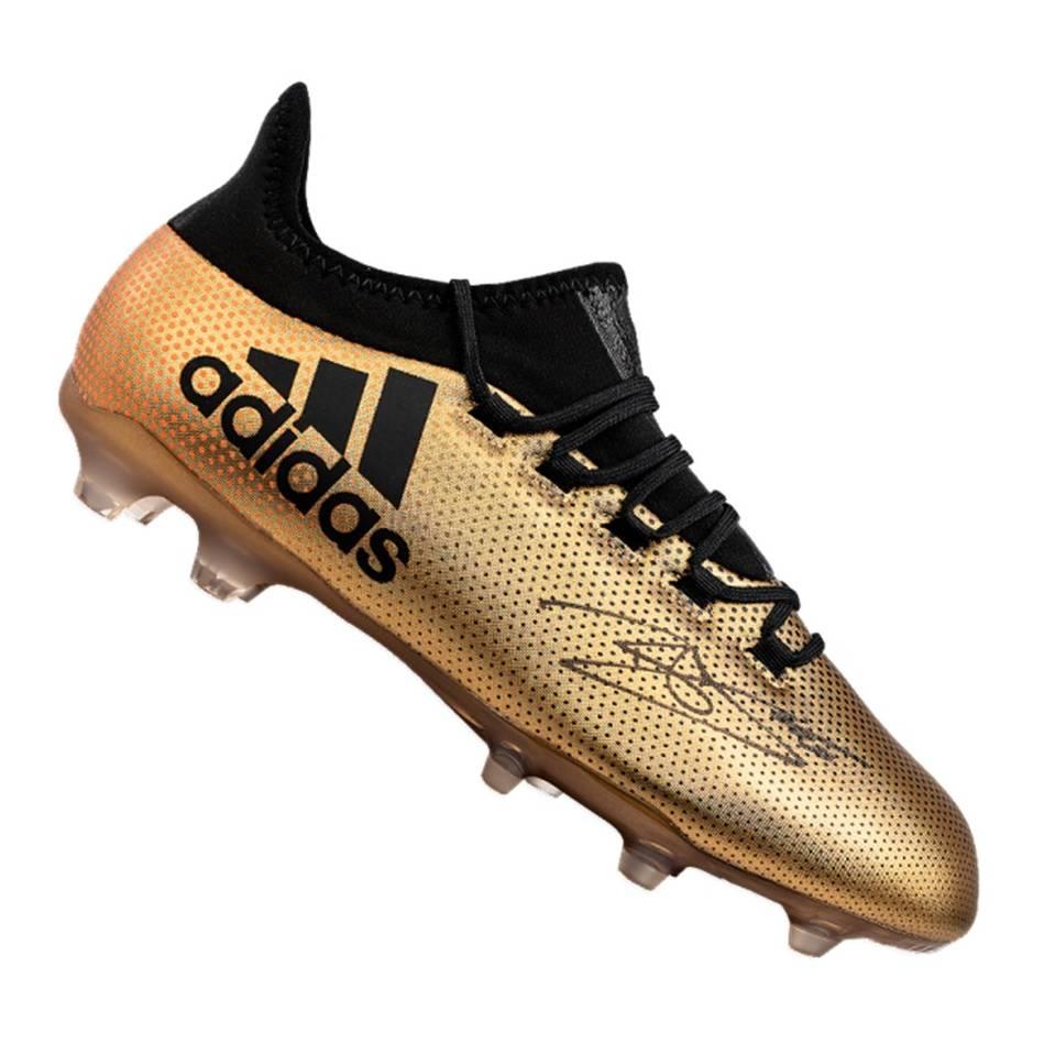 mainDele Alli Signed Gold Adidas X Boot0