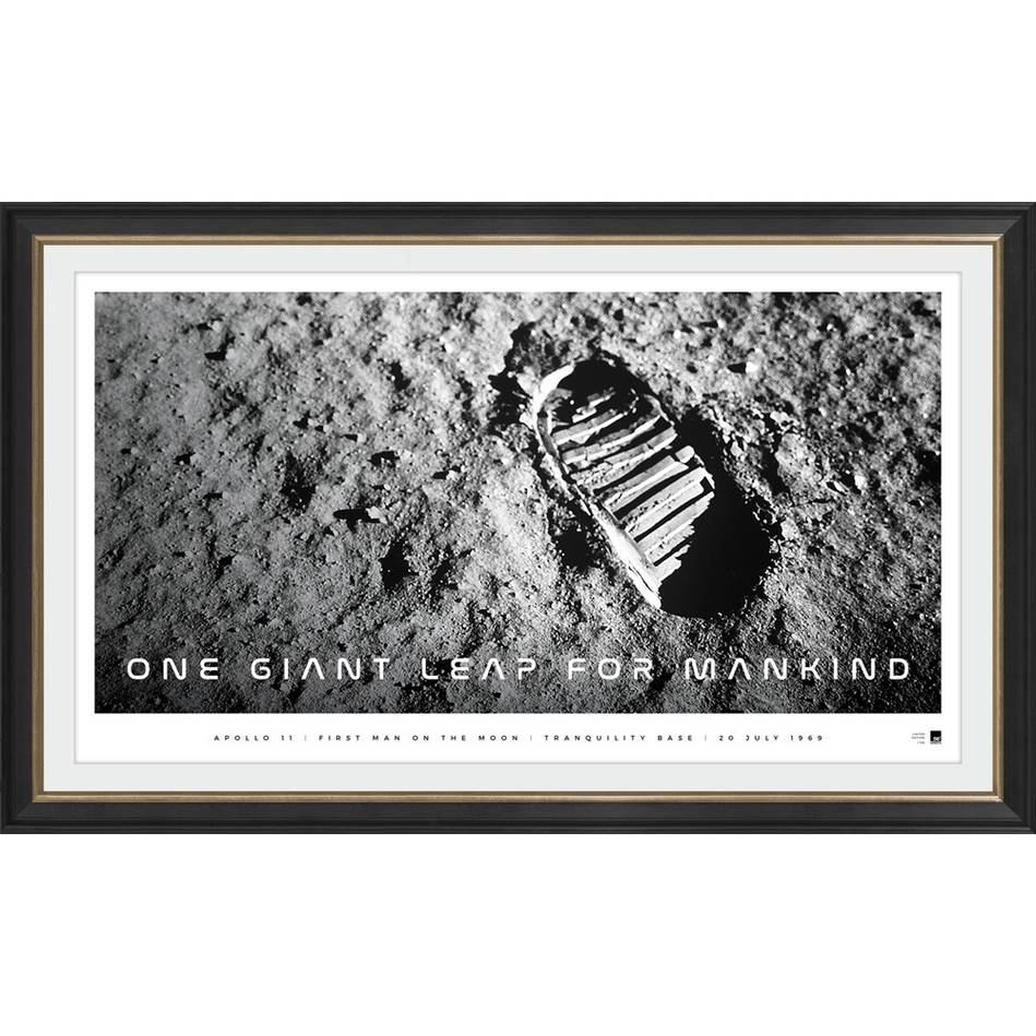 main'One Giant Leap for Mankind' Moon Landing Icon Series0