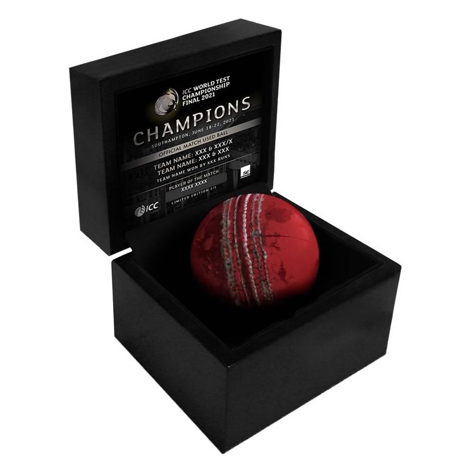 mainICC World Test Championship Final Match-Used Ball0