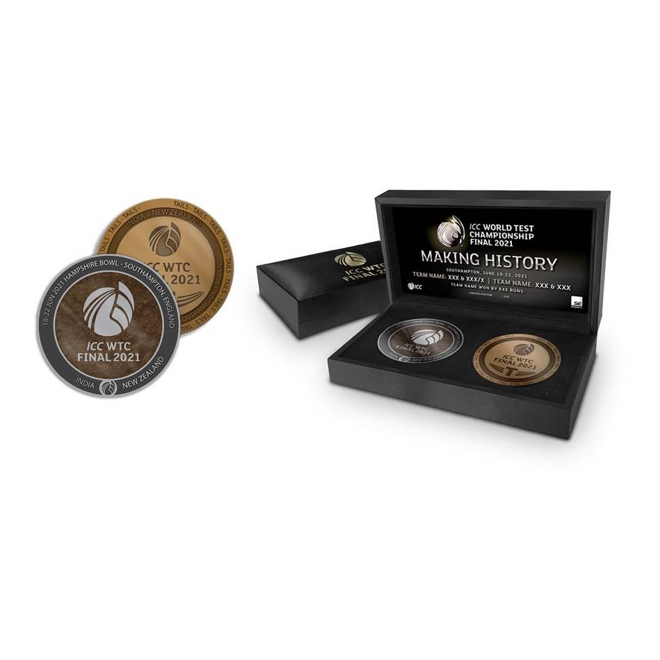 mainICC World Test Championship Dual Medallion Display0