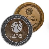 ICC World Test Championship Dual Medallion Display1