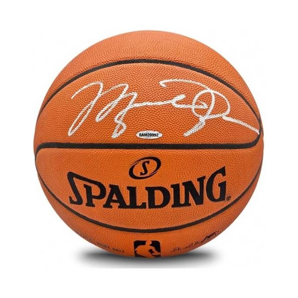 mainMichael Jordan Signed Spalding Basketball0