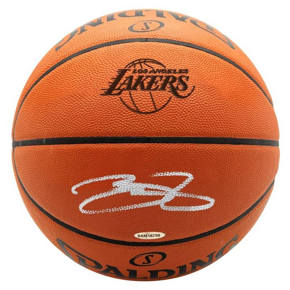 mainLeBron James Signed Basketball0