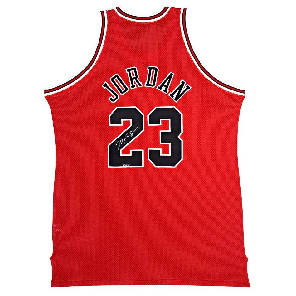 mainMichael Jordan Signed Chicago Bulls Jersey0