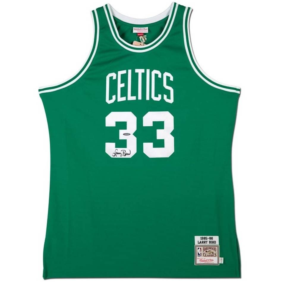 mainLarry Bird Signed Boston Celtics Jersey0