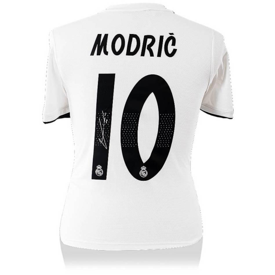 mainLuka Modric Signed Real Madrid Jersey0