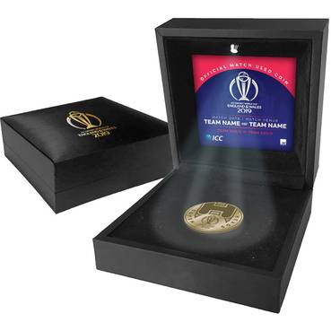 England vs New Zealand – ICC 2019 Cricket World Cup Match-Used Coin Toss Coin