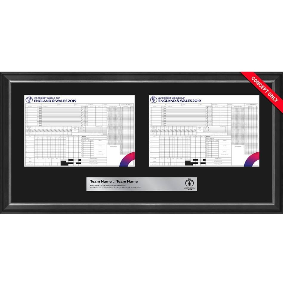 mainAustralia vs South Africa – ICC 2019 Cricket World Cup Match-Used Scorecard0