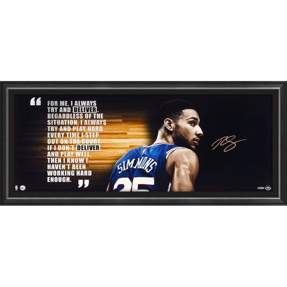 mainBen Simmons Signed 'Deliver'0