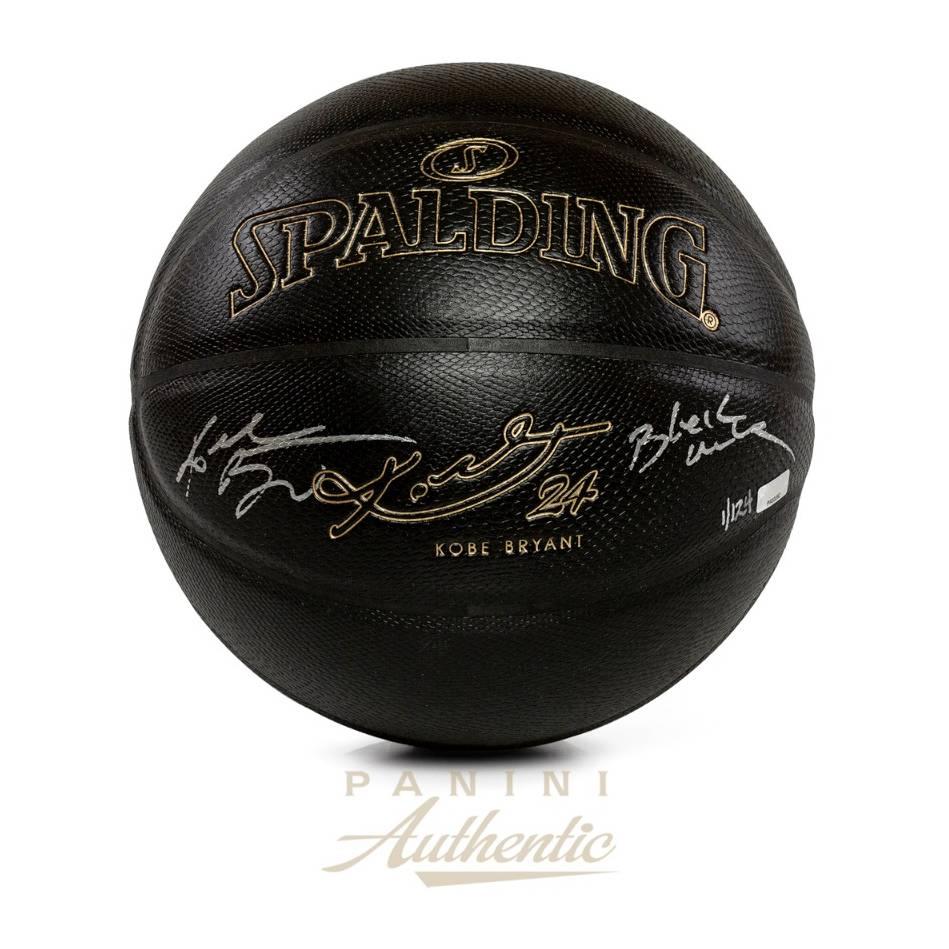 mainKobe Bryant Signed & Inscribed Spalding Basketball0