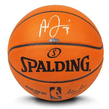 Anthony Davis Signed Basketball
